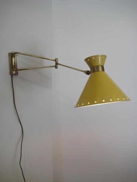 Rene Mathieu wall light